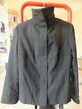 MANGO BLACK JACKET COAT 8/10 UK BNWOT