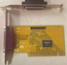 PCI Card 2x Parallel SPP/EPP/ECP,  MosChip