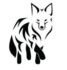 FOX TRIBAL Vinyl Decal -Sticker Car Truck SUV Van Bumper Wall Laptop Home Animal