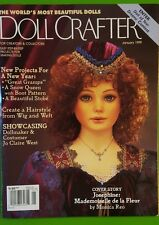 back issue doll crafter magazine January 1999 with pullout patterns
