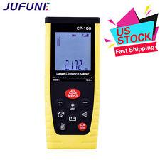 Jufune CP-100 100m Laser Distance Meters Handheld Laser Range Finders US Stock