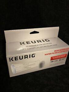NEW Keurig Rear Reservoir Water Filter Starter Kit K200 and K Compact K35