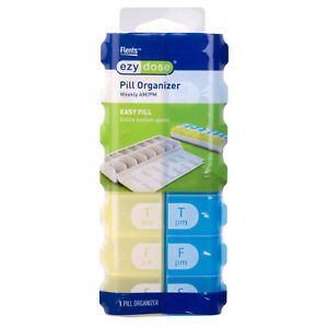 Ezy Dose (Ezy-Dose) Pill Organiser Weekly AM/PM
