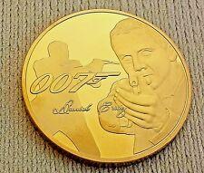007 James Bond Gold Coin Naked Lady Daniel Craig Spy London Woman Films Finger