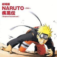 New 0841 NARUTO SHIPPUDEN THE MOVIE ORIGINAL SOUNDTRACK Music CD Japan