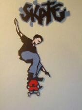 SKATEBOARDER~~&~~ SKATE TITLE~DUDE~~CRICUT DIE CUT/CUTS