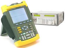 Fluke 90, 105, 120, 190 Scopemeter Calibration Service, Basic Non-Traceable