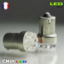 2 ampoule 9 led orange PY21W