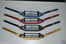 """GOLD Renthal Streetfighter Braced Motorcycle Handlebars 7/8"""" 789-02-GO"""