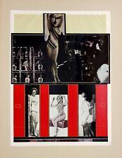 "KP Brehmer ""Faltblatt "", 1965, Klischeedruck, handsigniert"
