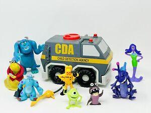 Disney Pixar Monsters Inc. Child Detection Agency CDA van toy with Figures