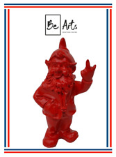 STATUE NAIN 33 CM - ROUGE