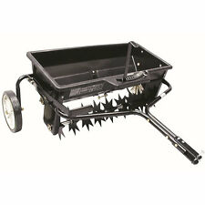 Agri-Fab 100 LB. Tow Behind Spike Aerator/Drop Spreader