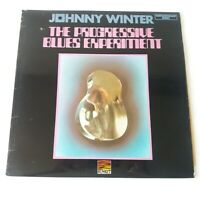 Johnny Winter - Progressive Blues Experiment - Vinyl LP UK 1974 Press VG+/NM