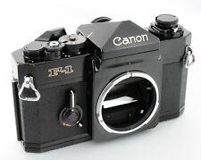 Canon F-1 F1 35mm SLR Late Modelfilm Camera Black Body
