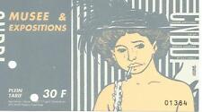 TARDI  -  Billet d'entrée au CNBDI à Angoulême  (a14)