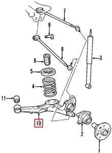 Toyota RAV 4 ATV//SUV 6//1994-8//2000 2.0 Almohadillas Freno Delantero Set W133-H53-T17.5