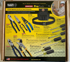 Klein Tools 92914 Journeyman Apprentice Tool Set 14 Piece Kit WITH POUCH