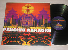 TRANSGLOBAL UNDERGROUND - PSYCHIC KARAOKE - 2 LP 33 GIRI ENGLAND