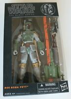 """Action Figure - Star Wars The Black Series 6"""" - #06 Boba Fett - Preowned"""