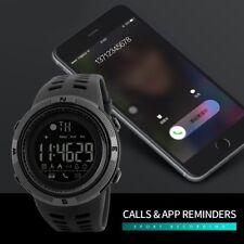 SKMEI Fashion Mens Smart Watches Bluetooth Digital Sports Wrist Watch Waterproof