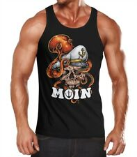 Caballeros Tank-Top moin calavera käptn capitán Octopus muscular camisa muscle Shirt