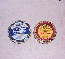 Rawleigh Antiseptic Salve   &  Medicated Ointment Set 5 oz. each