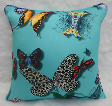 Designers Guild Fabric Cushion Cover  'Butterfly Parade' Lagon - 100% cotton