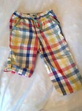 Mini Boden Checked Trousers & Shorts (0-24 Months) for Boys