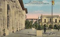 Postcard DB A366 Pigeons Sacramento Bdg Panama Calif Exposition San Diego 1915