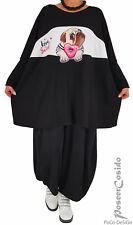LAGENLOOK Pullover Print Shirt Oversize Pulli L-XL-XXL-XXXL 46 48 50 52 54 56 58