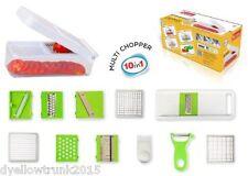 Nestwel Nicer Dicer Plus Multi Chopper Vegetable Cutter Fruit Slicer 12 Pcs #132