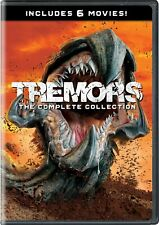 Tremors The Complete Movie Series 1 2 3 4 5 6 Film Collection DVD Box Set Horror
