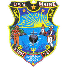 SSBN-741 USS Maine Patch