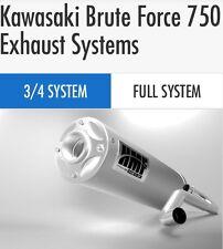 "HMF Kawasaki Brute Force 750 2015-2017 Titan Series ""quiet""  3/4 Exhaust Muffler"