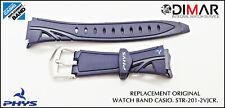 REPLACEMENT ORIGINAL  WATCH BAND CASIO STR-201-2VJCR.
