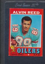 1971 Topps #169 Alvin Reed Oilers EX *507