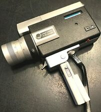 Very Nice Canon 518  Super 8 Movie Camera w/Case, Very Good Condition, Working