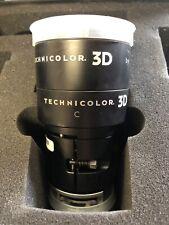 Rare Schneider Kreuznach Cinema Technicolor 3D Film Projector Lens with Case