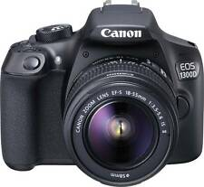 Canon EOS 1300D DSLR Camera (Body with EF-S 18 - 55 IS II) (Black)