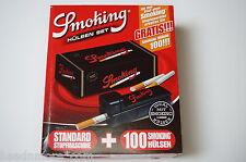 Smoking SET Standard Stopfmaschine + 100 Hülsen / Zigarettenstopfmaschine Shoot