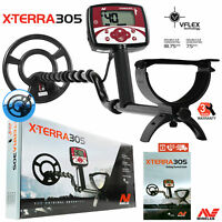"Minelab X-Terra 305 Metal Detector with 9"" Search Coil and 3 Years Warranty"
