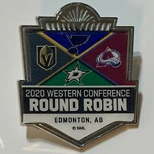Vegas Golden Knights 2020 Western Conference Round Robin WinCraft Lapel Pin NHL