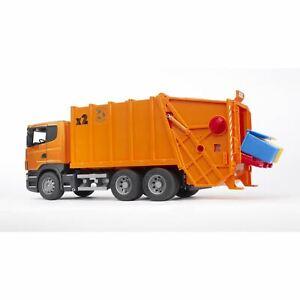 Bruder - SCANIA R-Series Garbage Truck, Orange