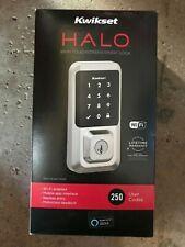 NEW Kwikset HALO Electronic Smart Lock Deadbolt Satin Nickel 939WIFITSCR15SM
