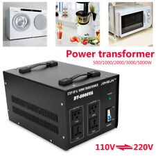 5000 Watt Electric Power Voltage Converter Transformer Step Up/Down (110V-220V)