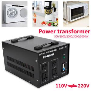 110V zu 220V inverter 5000W High Power Voltage Transformator Converter 220V⇋110V
