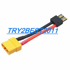 TRX Male to XT90/XT-90 Female Connector Adapter Cable for Traxxas