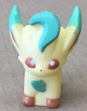 2007 Pokemon Finger Puppet Leafeon #470 Figure Catch Them All Nintendo Bandai