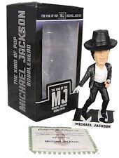 Michael Jackson (MJ) Bobblehead Odash King of Pop Figurine (2009) Bad Album  New